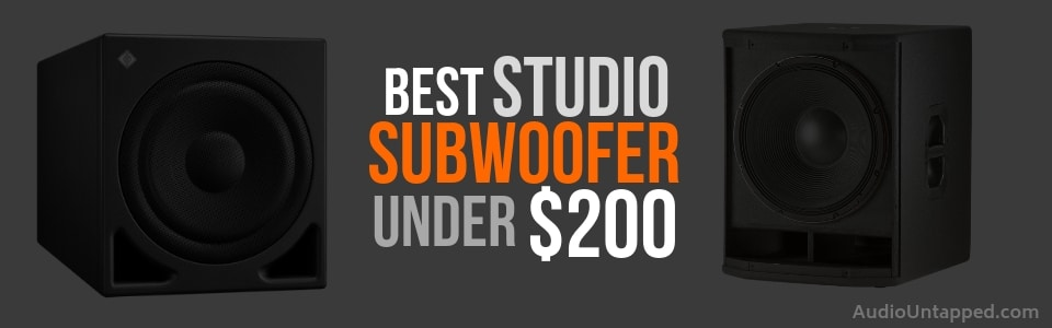Best Studio Subwoofer under 200
